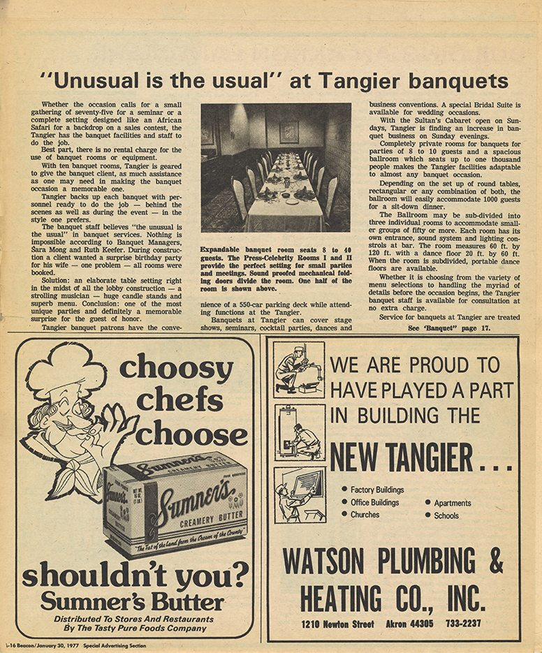 ABJ Introducing Tangier 1977 A-16